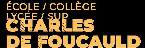 École / Collège / Lycée / Sup Charles de Foucauld