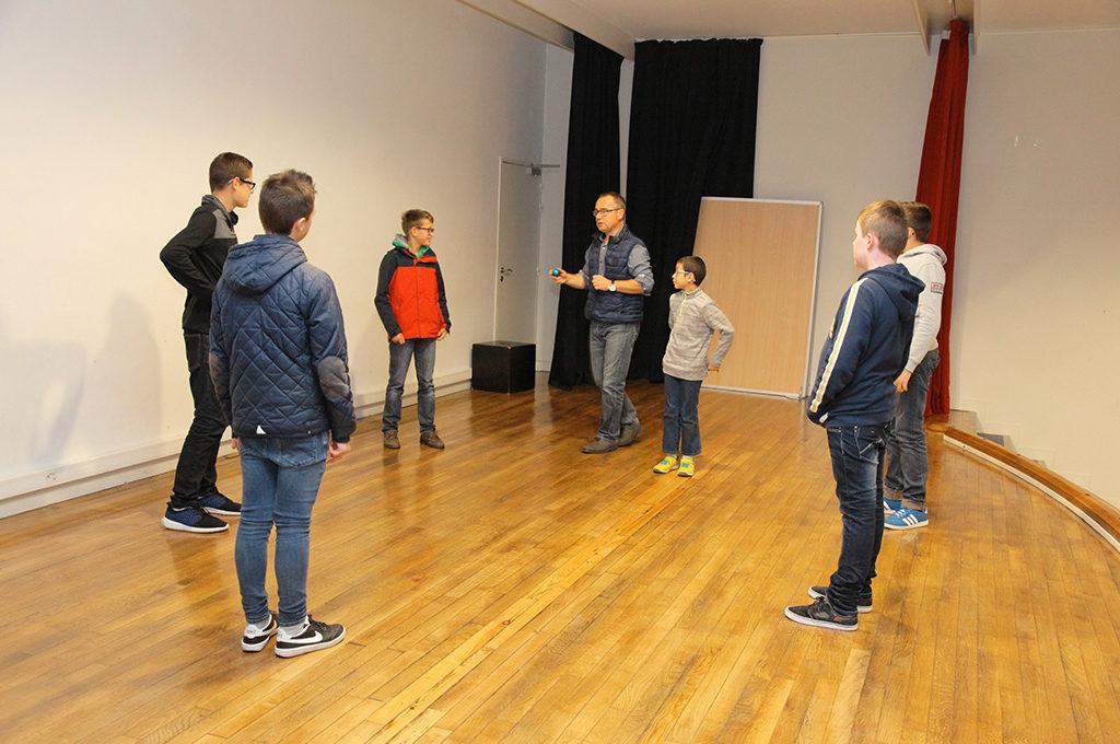 Théâtre Section d'enseignement général et professionnel adapté SEGPA collège Charles de Foucauld Brest Groupe scolaire Estran