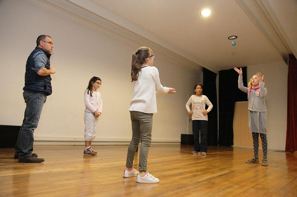 Théâtre expression orale Section d'enseignement général et professionnel adapté SEGPA collège Charles de Foucauld Brest Groupe scolaire Estran