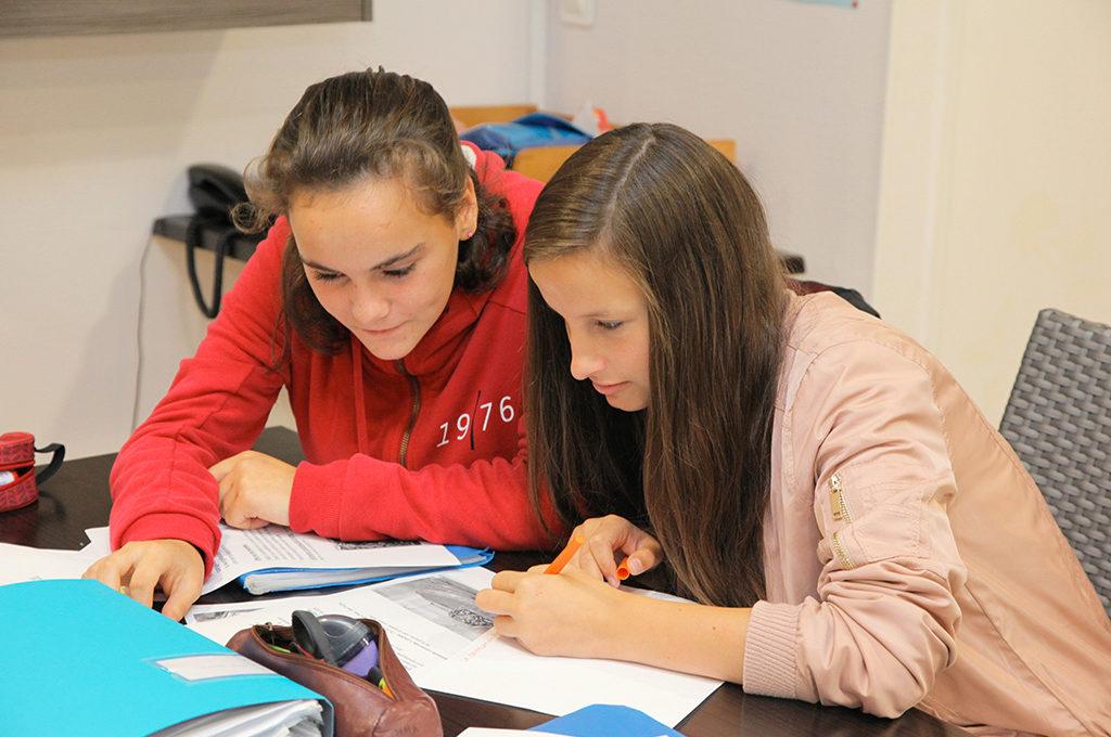 Lecture partage compréhension section d'enseignement général et professionnel adapté SEGPA collège Charles de Foucauld Brest Groupe scolaire Estran