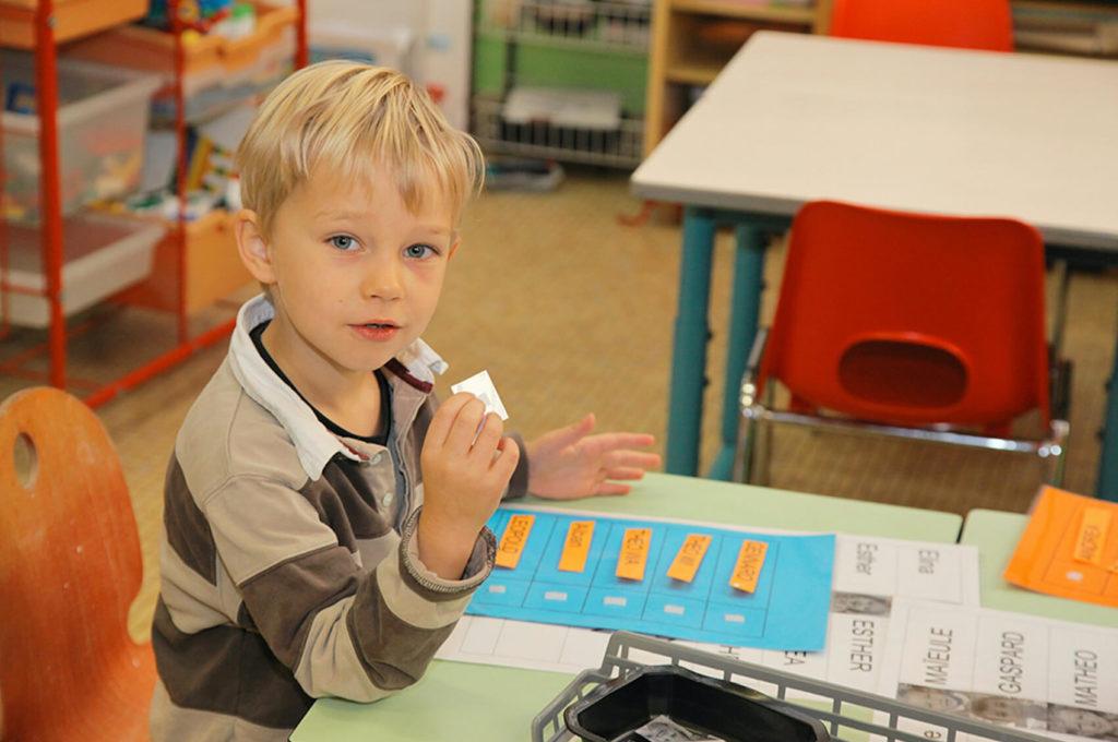 Enfants dessin collage école maternelle primaire élémentaire éducation enseignement épanouissement élèves Immaculée Conception Brest